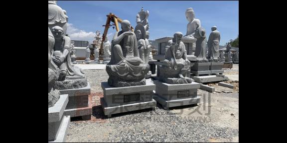 江苏关公石雕像厂家,石雕人物