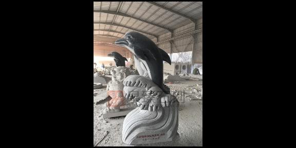 狮子石雕定制,石雕动物