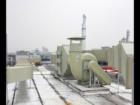 宁波北仑实验室管道通风