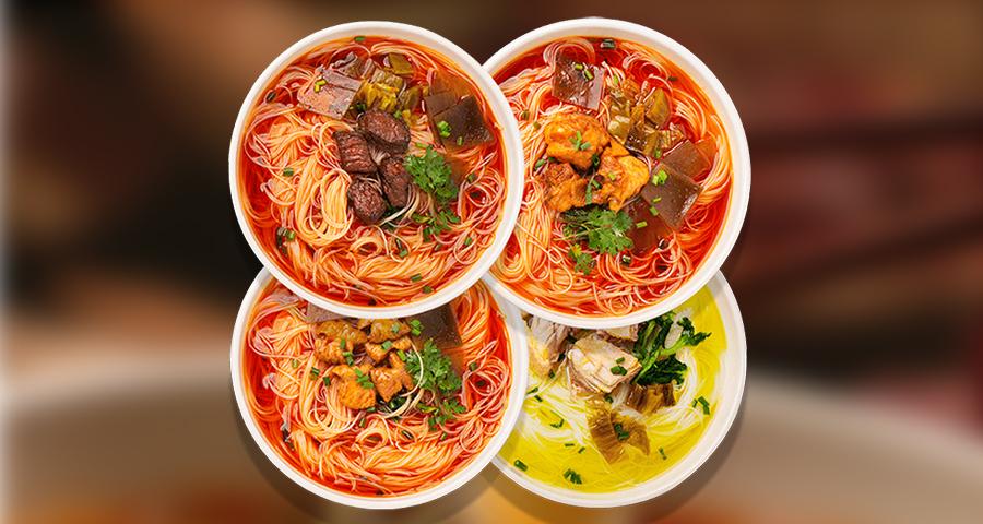 黑龙江米粉米线贴牌加工哪家好 欢迎来电「四川美味跳动食品科技供应」