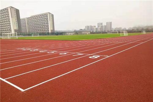 青岛跑道涂装 山东绿通建筑装饰供应