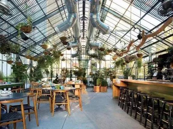 蔬菜温室餐厅设计 诚信为本「山东华耕温室骨架配件供应」