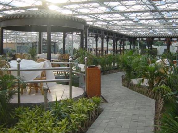 阳光生态餐厅大棚价格