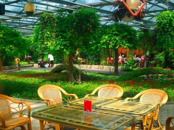 農場溫室餐廳安裝 來電咨詢「山東華耕溫室骨架配件供應」