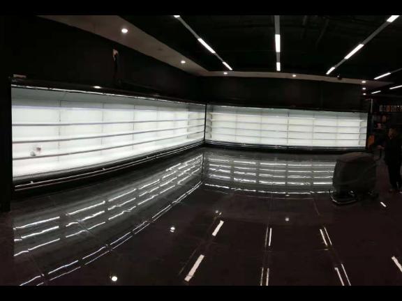 直背式椭圆半高柜制造厂家 服务为先「上海冰焰制冷设备供应」