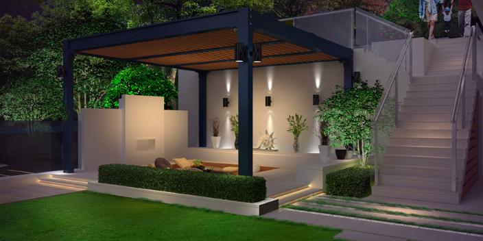 长宁区60平方庭院设计模板