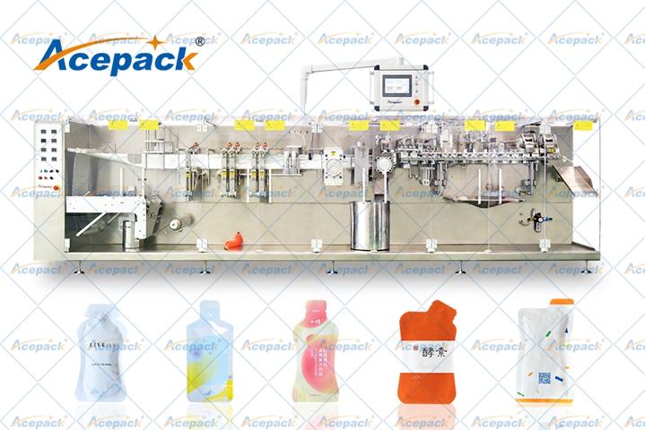 山东酵素异形袋包装机 创新服务 上海欧朔智能包装供应
