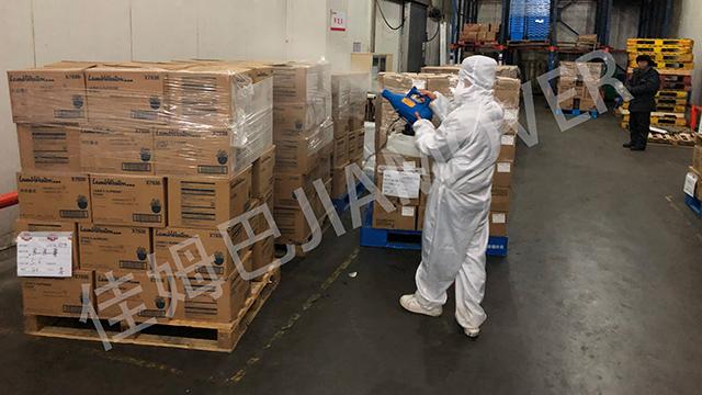 临港进口食品消毒服务价格 上海日洁环境科技供应