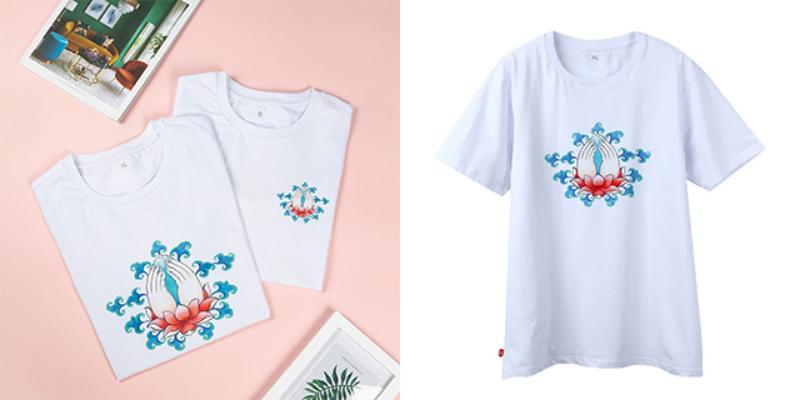 杭州印花T恤定制logo 服务至上「 上海尚乎数码科技供应」