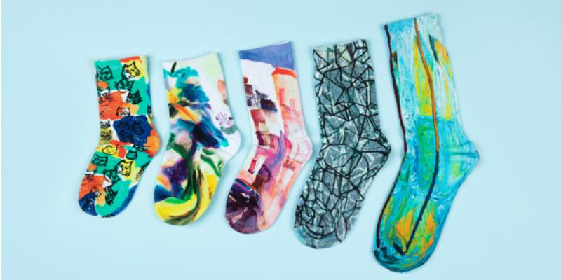 彩色袜子定制尺寸 欢迎来电「 上海尚乎数码科技供应」