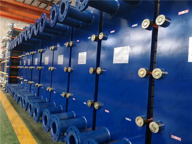 河南小型热交换器 诚信经营 上海板换机械设备供应