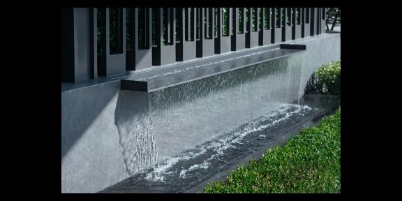 郑州小型人造瀑布景观设计公司,景观瀑布