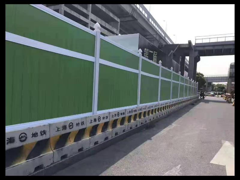 全上海建筑PVC围挡什么价格