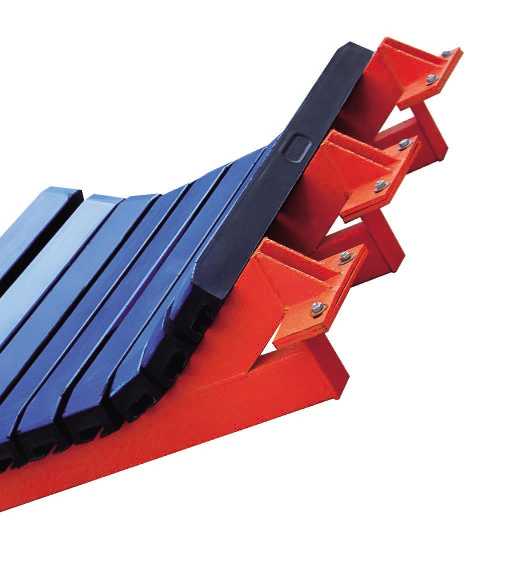 上海皮帶機緩沖滑槽規格「上海高羅輸送裝備供應」