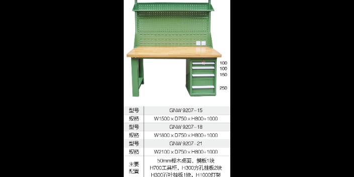 鹽城鋼制工作臺 歡迎來電「上海固諾工業設備供應」
