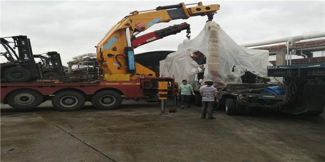嘉兴机器起重搬运 上海国祥装卸搬运供应