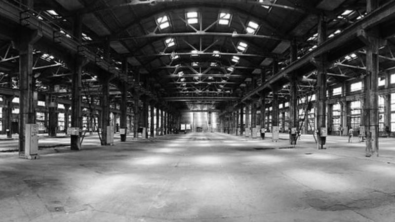 東西湖區老舊廠房混泥土地改造,老舊廠房