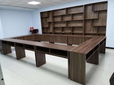 上海奉賢豪華會議桌訂購 文件柜廠家「上海豪派辦公家具供應」