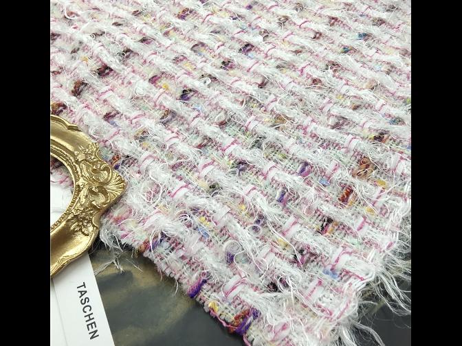 夹金丝小香风面料供应「上海和艺纺织品供应」