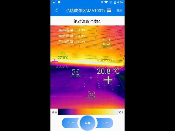 江苏接触红外线测温测振国标 上海士翌测试技术供应