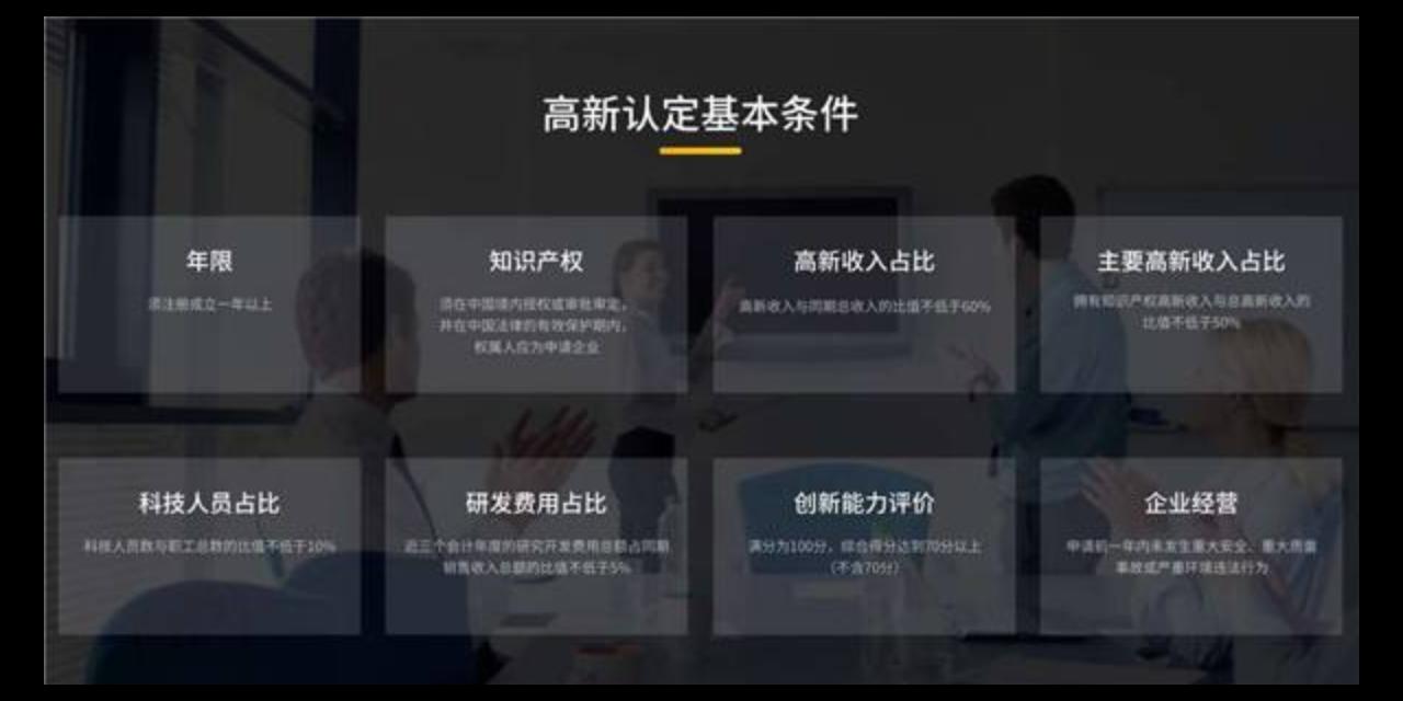 上海如何办理高新技术企业认证 上海济语知识产权代理供应