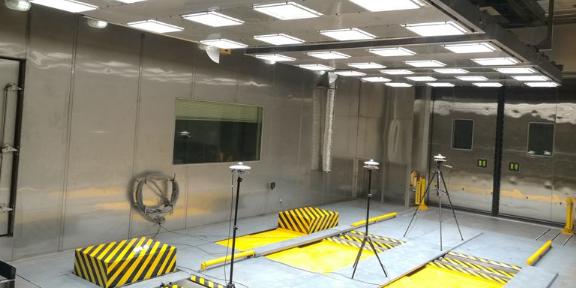环境室测试模拟太阳光红外波段