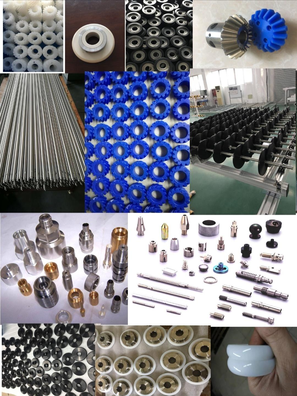 上海阔启承接各类不锈钢轴 齿轮 LCD输送轴 UPE滚轮加工