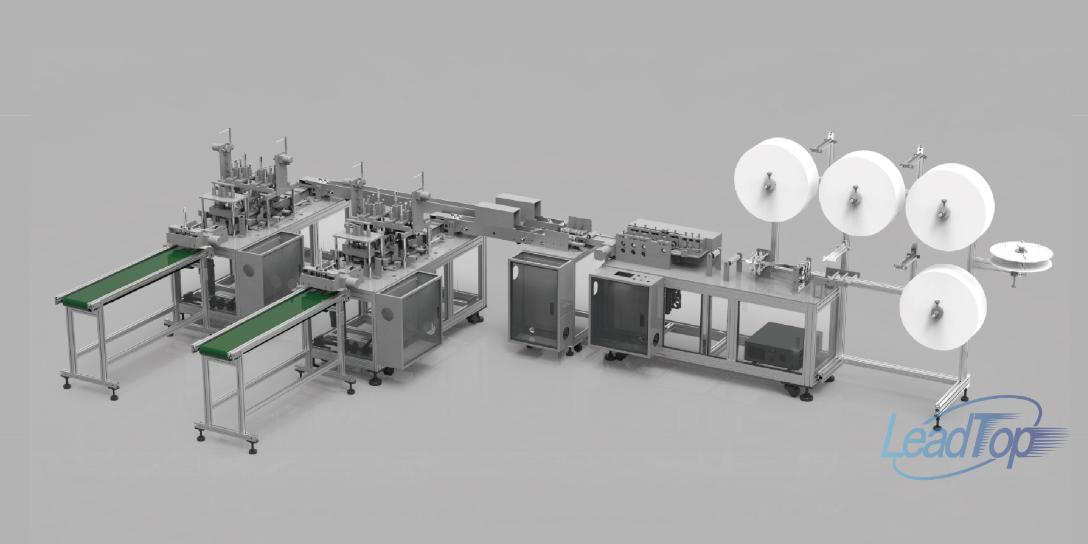 北京N95口罩機全自動生產線「上海利拓電氣供應」