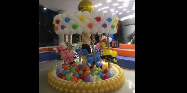 上海展厅气球装饰布置「上海荔雅贸易供应」