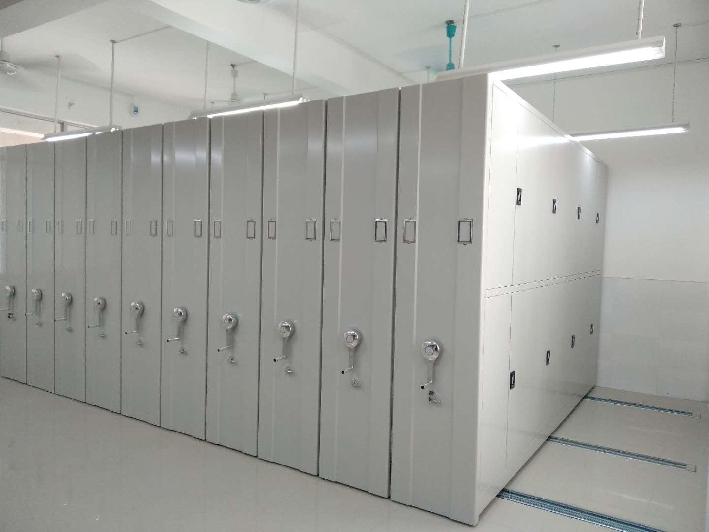 广州无轨密集架哪家便宜「上海良弋档案设备供应」