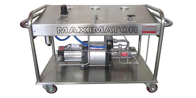 气体增压站MAXIMATOR