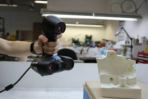 浦东新区handyscan激光扫描 贴心服务  上海模高信息科技供应