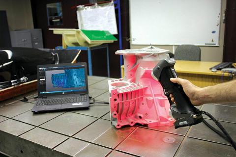 嘉兴handyscan激光扫描 来电咨询  上海模高信息科技供应