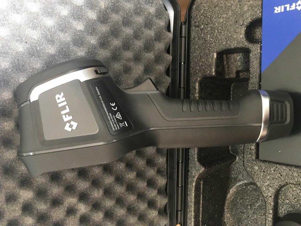 Optris红外热像仪加装激光瞄准器,红外热像仪
