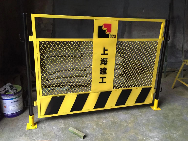 上海马路的围栏 上海能运金属构件供应