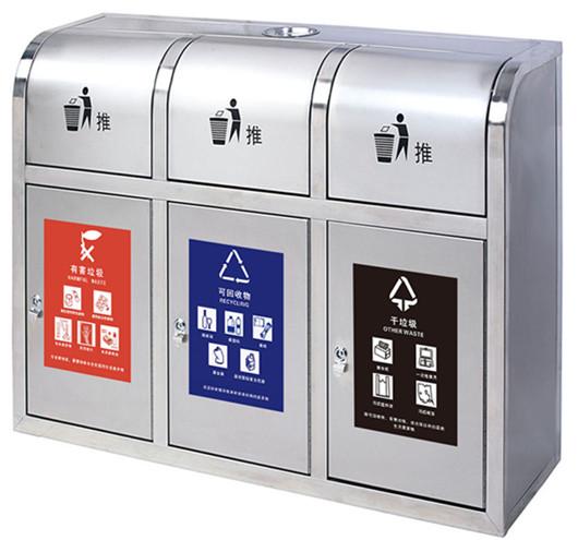 上海三分类垃圾桶销售 欢迎来电 诺盈环境科技供应
