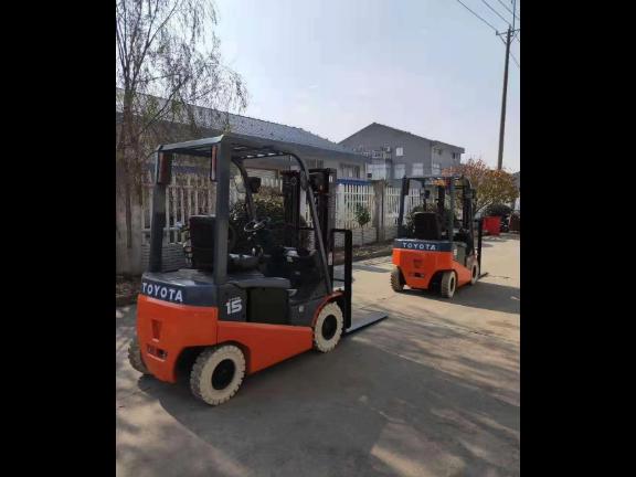 上海电动平衡重叉车租赁 上海企力叉车服务供应