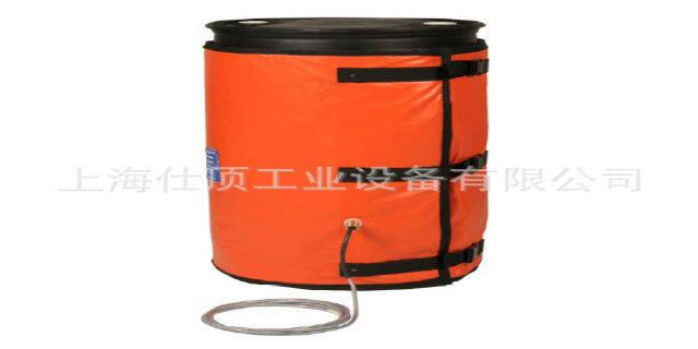 200KG铁桶电加热套「上海仕顶工业设备供应」