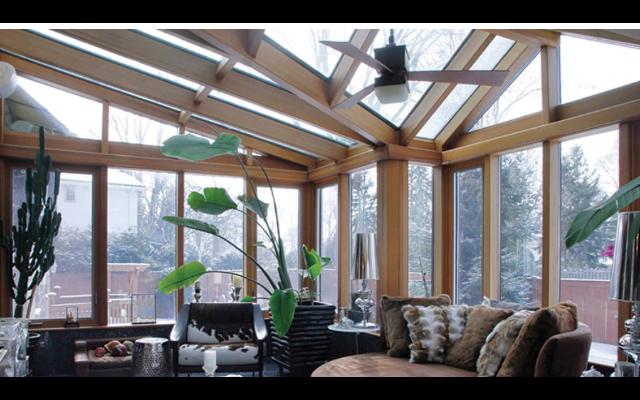 湖南樓頂陽光房多少錢 上海墅景門窗供應