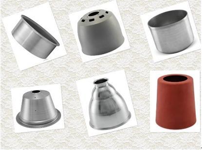 不同金属材料旋压产品的常见问题及解决办法