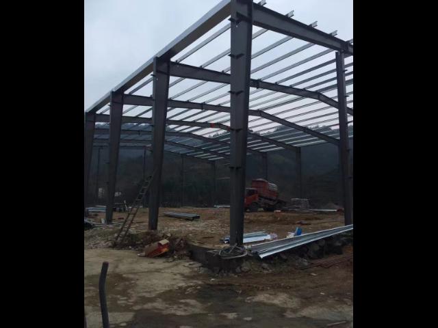 衢州二层钢结构厂房工程,钢结构厂房