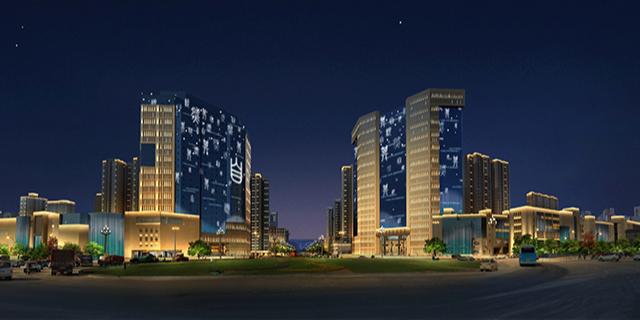 河南古鎮燈光設計效果 歡迎來電「上海上煌照明工程供應」