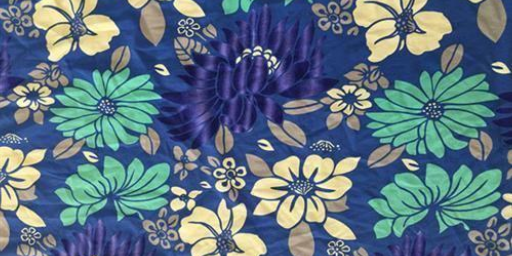 麻布印花布料市场,印花布料