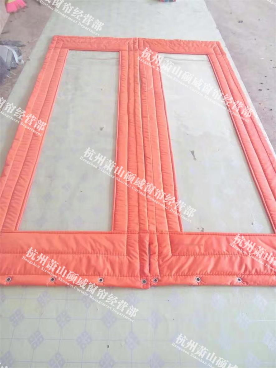 防风皮革棉门帘 服务为先「杭州萧山硕威窗帘供应」