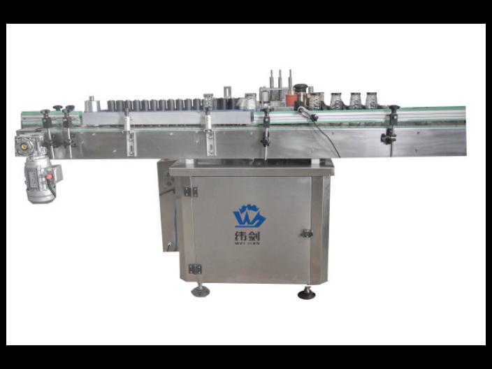 瓶身瓶頸貼標機多少錢 服務為先 上海緯劍機械供應
