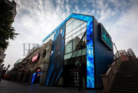 上海创意led天幕屏大概多少钱,HDC创意显示