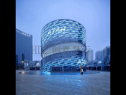 上海HDCled球形屏厂家,HDC球形屏弧形屏