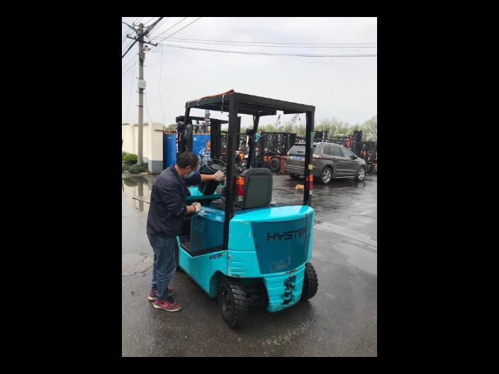 二手合力废料夹叉车短期租赁费用 值得信赖 上海项轩叉车供应
