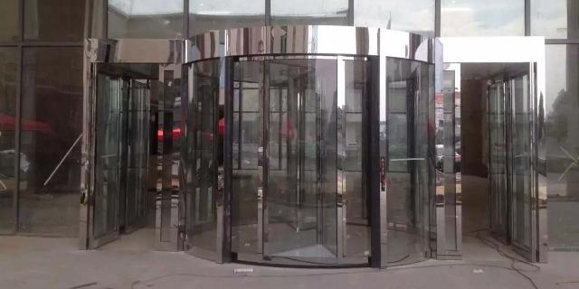 奉贤区操作性能好自动旋转门订做,自动旋转门