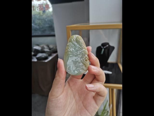 上海镂空翡翠种水 欢迎咨询「银鼎珠宝供应」